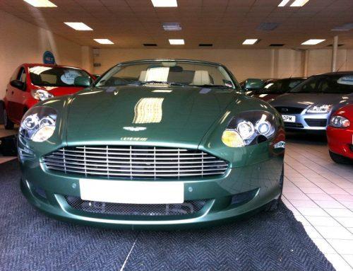 Aston Martin DB9 Volante Leather Car Seat Repair