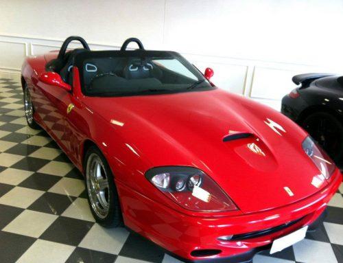 Ferrari 550 Barchetta Leather Car Seat Repair