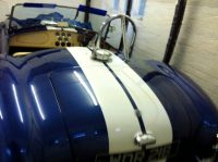 AC Cobra Car Seat Leather Repair