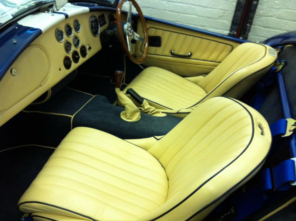 AC Cobra Leather Seats