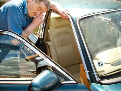 Car Leather Repair for Jaguar Sovereign