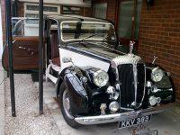 Daimler leather seats repair