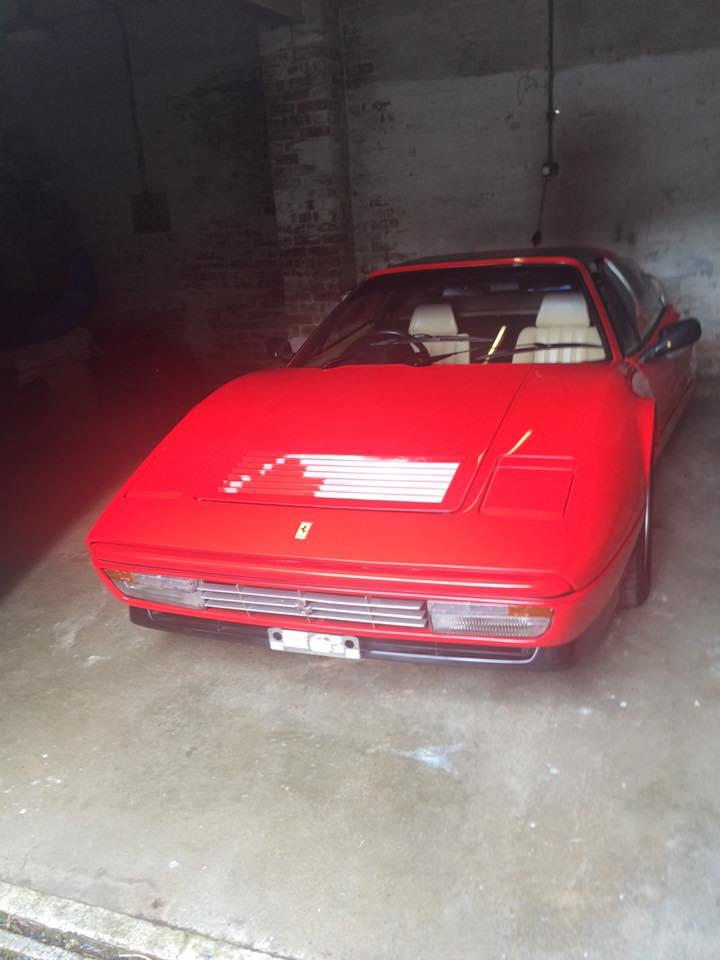 Ferrari leather seat repair