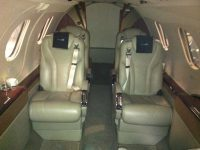 jet aeroplane leather seat repair3