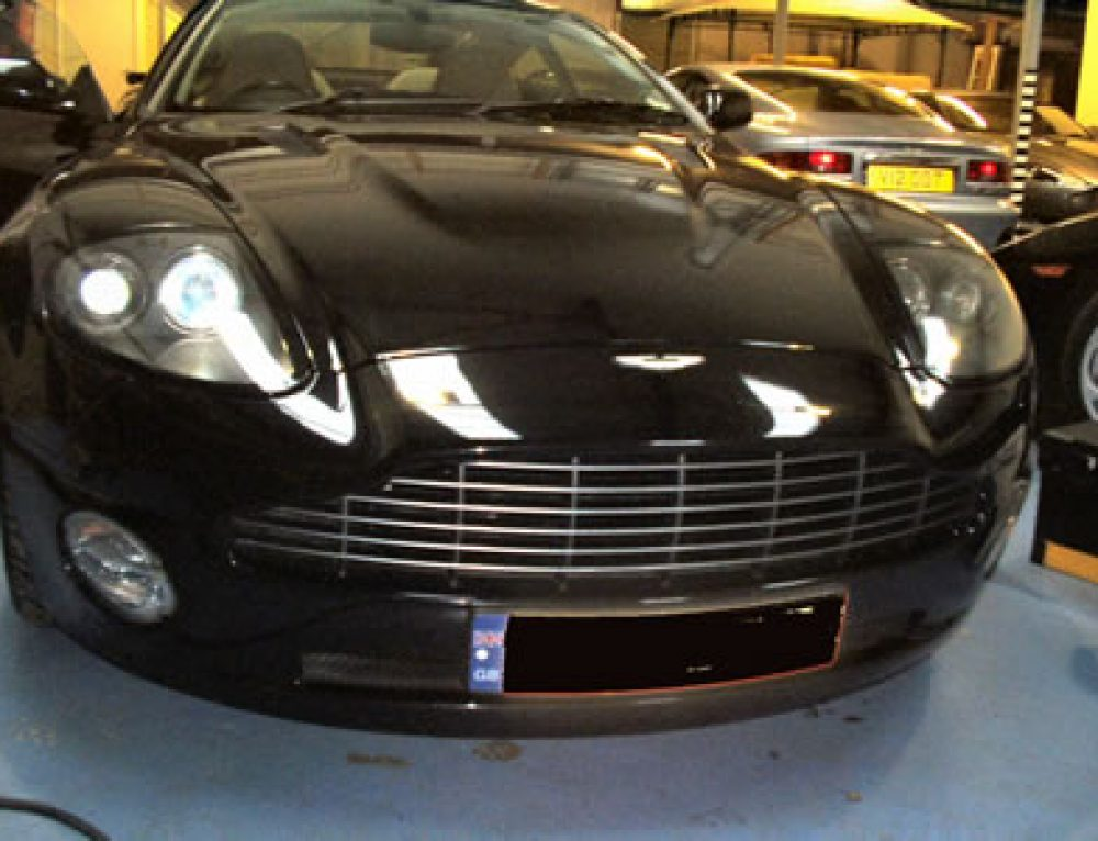 Leather Seat Repair for Car Aston Martin Vanquish