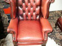 Leather Seat Repair - Before