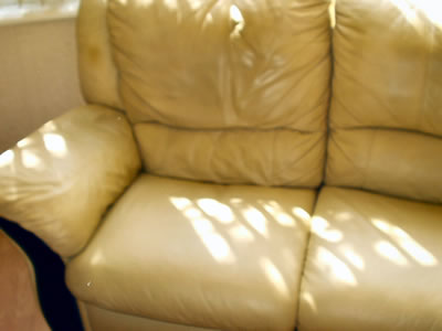 Leather Sofa Repair - After