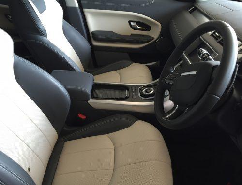 6 month old Range Rover Evoque Leather Damage