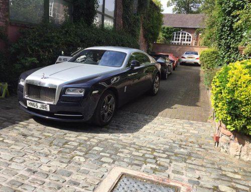 Rolls Royce Wraith Leather Seat Repair