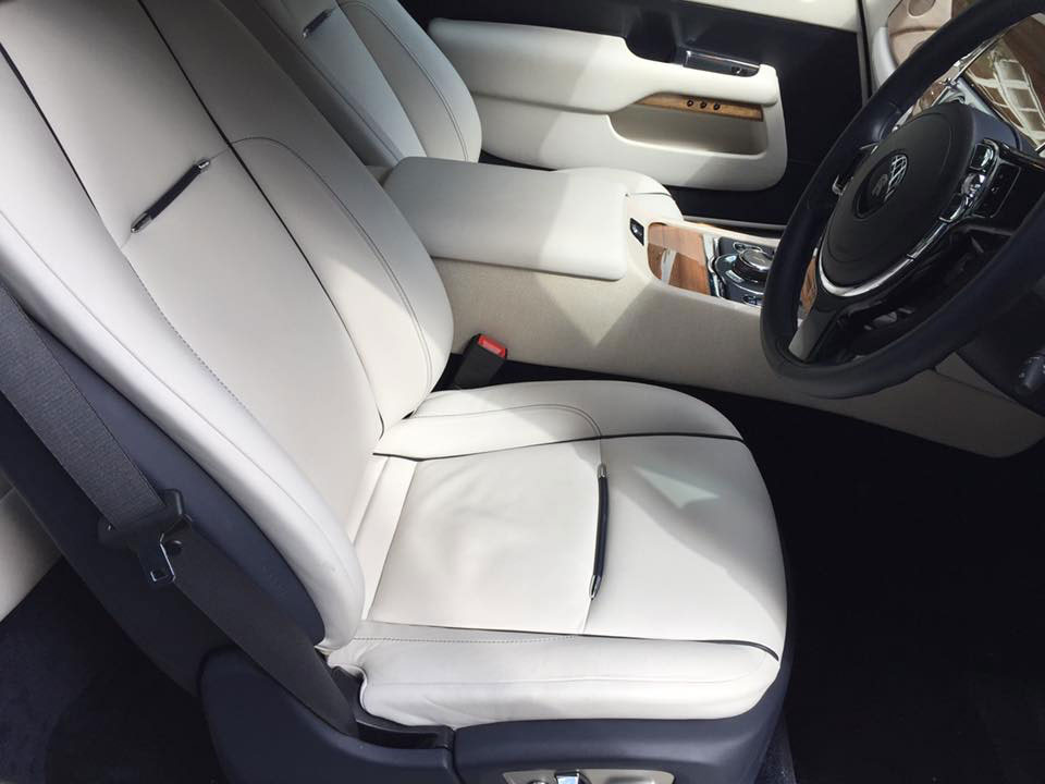Bentley Seat Repair - After