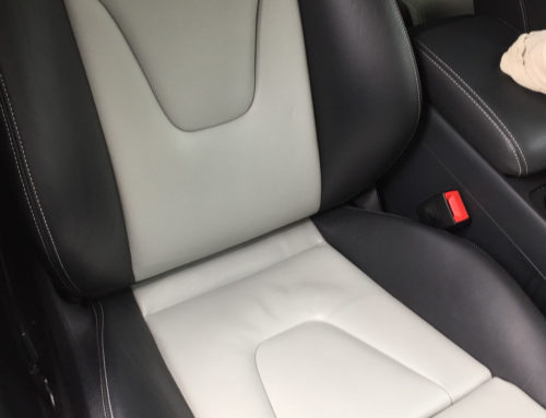 Vandal Damaged Leather in Audi S5 – Fully Restored