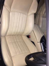 BMW M5 F10 drivers seat/armrest restoration - After