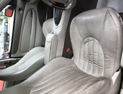 Jaguar XKR Car Seat Restoration