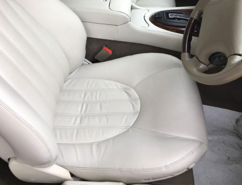 Jaguar XKR Car Seat Restoration