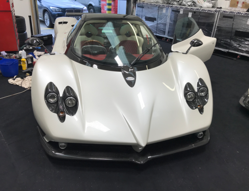 Pagani Zonda F Leather Restoration