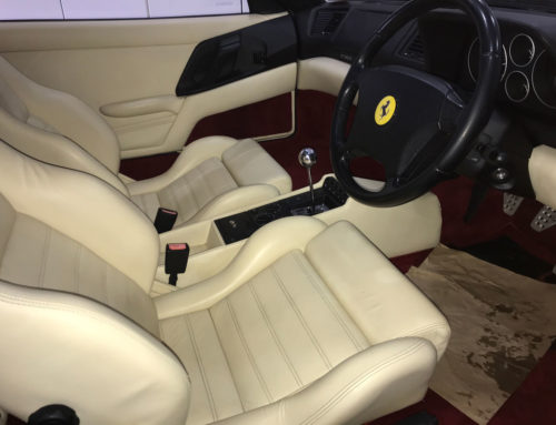Ferrari F355 interior Leather Restoration